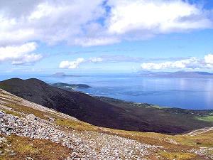L'excursion en montagne à Croagh Patrick